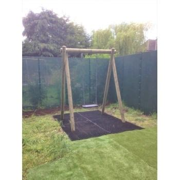 Langley Swing by Langley Single Swing Frame With Heavy Duty Rubber