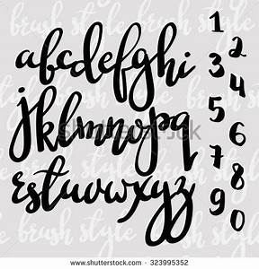 78 best ideas about modern calligraphy alphabet on for Calligraphy pen letters