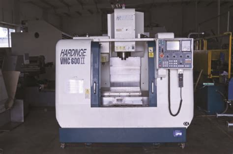 hardinge vmc  ii cnc vertical machining center