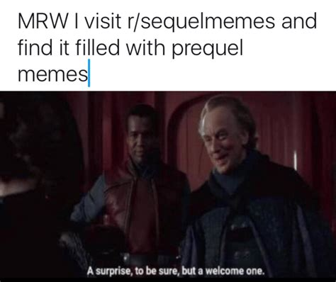 R Prequel Memes - live footage of the meme war prequelmemes