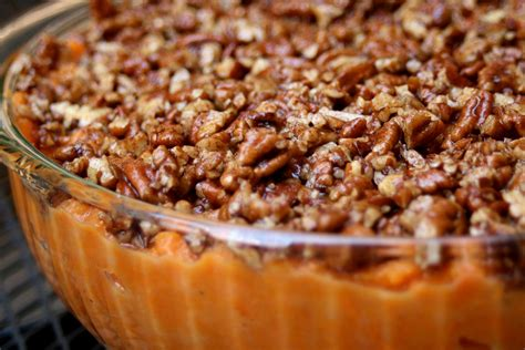 Cupcakesomg! Paleo Sweet Potato Casserole (and The Rest