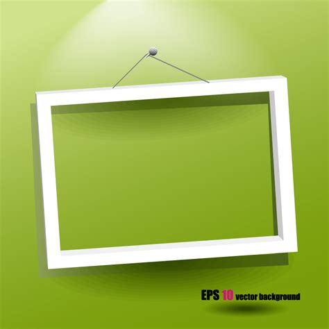 photo frame template  vector graphic
