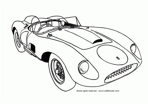 Coloring Pages Of Ford Mustangs Collection Free Coloring