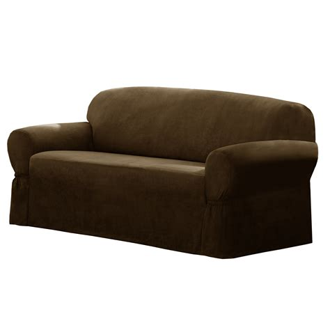 Sofa And Loveseat Slipcovers by Maytex T Cushion Loveseat Sofa Slipcover Reviews Wayfair