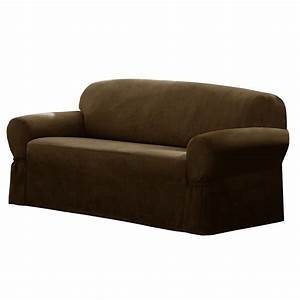 maytex t cushion loveseat sofa slipcover reviews wayfair With furniture slipcovers for loveseats