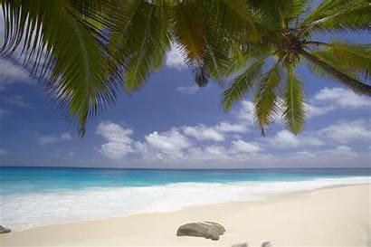 Sand Beach Desktop Seychelles Wallpapers Pure Wallpapersafari