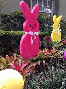"""Large EASTER Bunny Decoration """"How To"""" - FAST & SUPER EASY"""