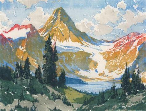 artist barbara harvey leighton woodcuts watercolor art