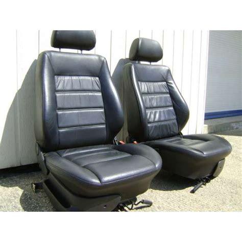 siege cuir golf 3 2 sièges avant cuir volkswagen polo ou golf 3