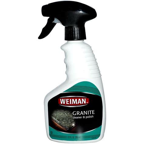weiman granite cleaner 236ml cleaning supplies