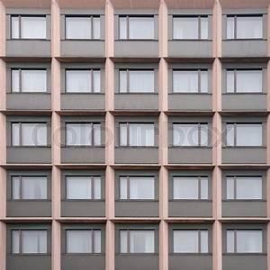 Modern European office building wall ... | Stock image ...