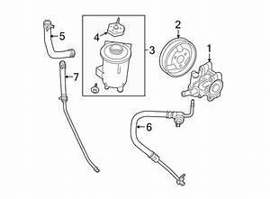 Ford Ranger Power Steering Reservoir Hose  Line  Liter
