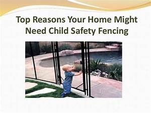 Top Reasons Your Home Might Need Child Safety Fencing