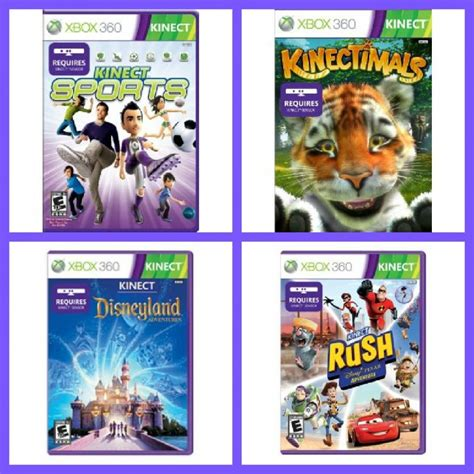 Xbox 360 Kinect Games Giveaway Bash Clever Housewife