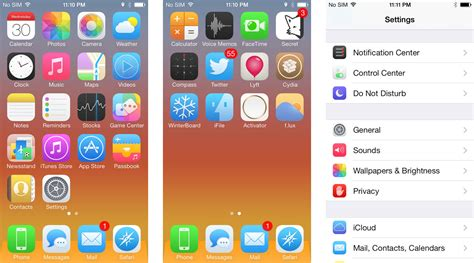 iphone 6 theme best jailbreak themes for iphone ayecon flat7 zanilla