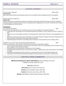 What Else To Add On A Resume by Resume Sles Resume 555