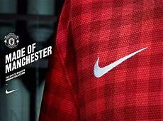 Official New Nike Manchester United Kit 20122013 1213 Man U Gingham Home Shirt Football