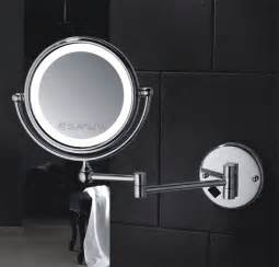 bathroom hardware ideas led lighted magnifying mirror hotel bathroom