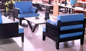 Modele De Salon : model meuble salon en bois ~ Premium-room.com Idées de Décoration