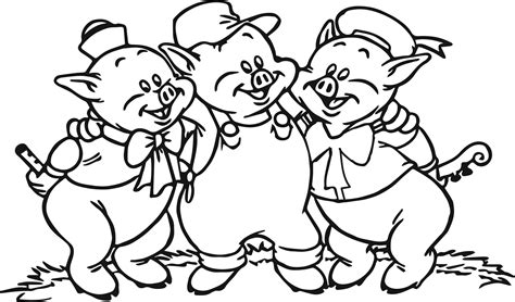 Three Little Pigs Drawing at GetDrawings Free download