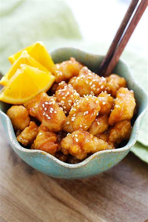 orange chicken recipe easy delicious recipes