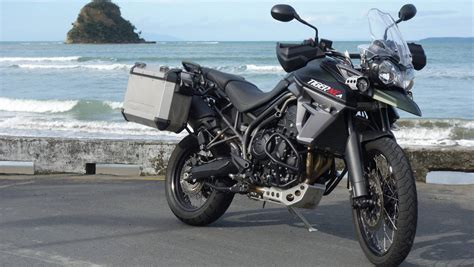 Triumph Tiger 800 Picture by The Triumph Tiger 800 With Almost Everything Stuff Co Nz