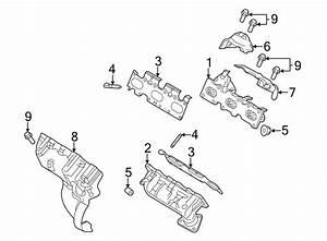 Ford Flex Exhaust Manifold Heat Shield  Upper   Liter