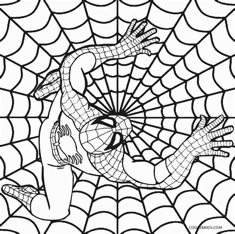 printable spiderman coloring pages  kids coolbkids
