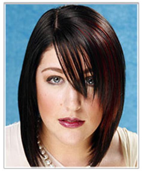 layered bob haircut smooth hair sleek look 1995