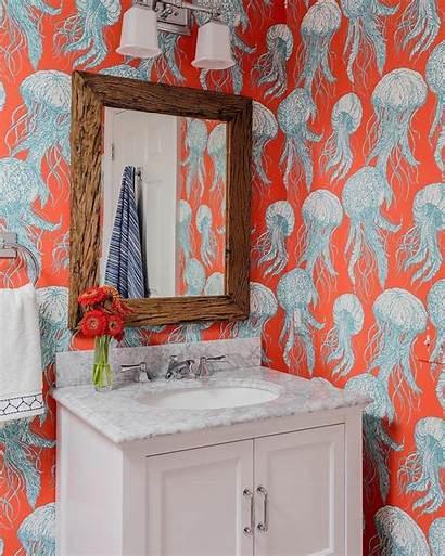 Bathroom Jellyfish Bloom Thibaut Toilet Bold Unique