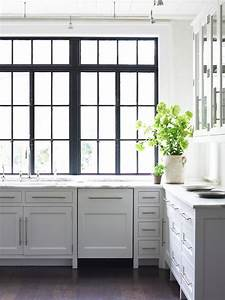 black frame windows the estate of things With kitchen colors with white cabinets with metal wall art photo frames