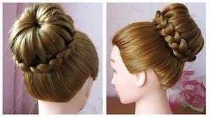 Coiffure Tresse Facile Cheveux Mi Long : chignon tress facile tuto coiffure simple et rapide ~ Melissatoandfro.com Idées de Décoration