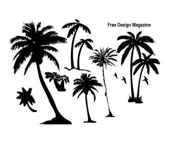 vector palm trees ai svg eps vector