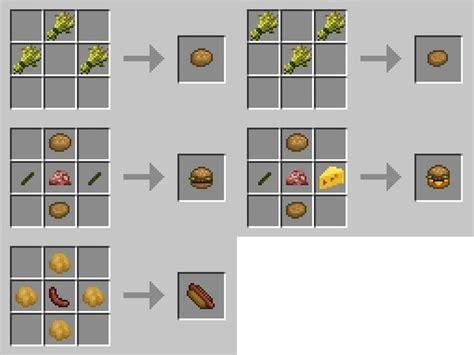 xl food mod add  foods  minecraft