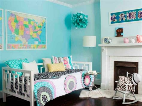 deco chambre fille turquoise paihhi