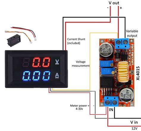 Power Supply Digital Voltmeter Ammeter Wrong Reading