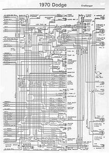 Electrical Wiring Diagram Of 1970 Dodge Challenger  60403