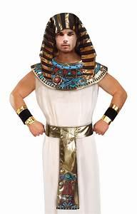 Pharaoh Set Fancy Dress Up Kit Tutankhamun Egyptian ...