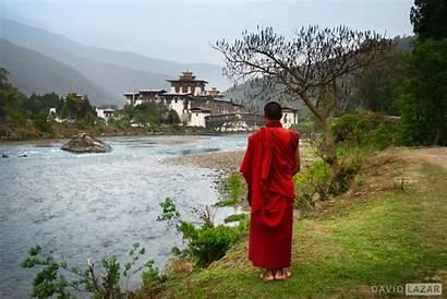 Bhutan Monk Photographing Lazar David Dzong Thimpu