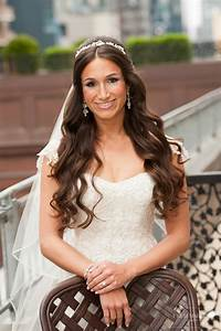 Bridal Hairstyles Half Up Half Down with Veil and Tiara ...