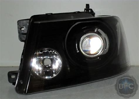 2007 headlights clear hid ford 150 f150 blackflamecustoms projector conversion chrome lights