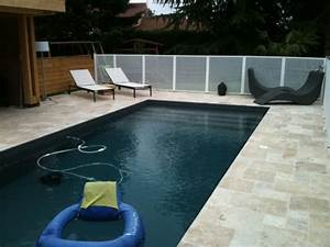 liner gris anthracite par temps couvert petit plongeon With piscine avec liner gris clair 0 swimming pools swimming pools magiline