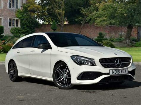 Request a dealer quote or view used cars at msn autos. Mercedes-Benz CLA Class 2016 CLA 220d AMG Line 5dr Tip Auto Estate | in Lincoln, Lincolnshire ...