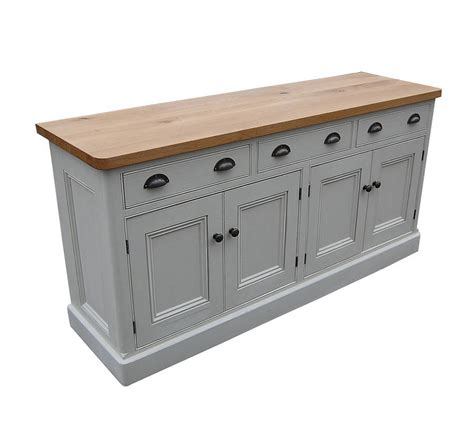 Antique Wooden Sideboard by Reclaimed Painted Wood Sideboard By Eastburn Country