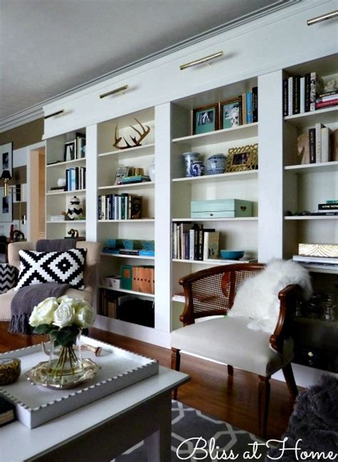den project built  billy bookcase ideas southern