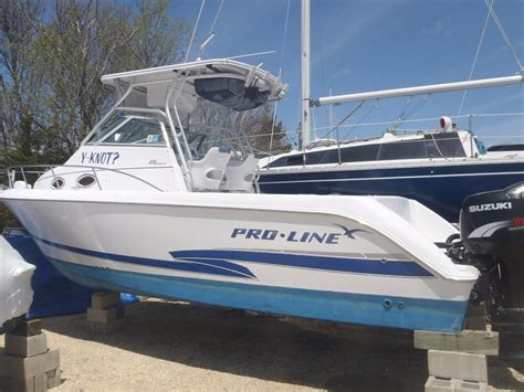 Troline Boat by 2001 Pro Line Pro Line 26 Walk Power Boat For Sale