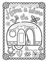 Coloring Happy Campers Thaneeya Camper Pages Camping Adult Printable Drawing Trailers Blank Template Theme Mcardle Caravan Rv Sheets Cute Colouring sketch template