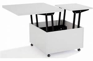 Table Basse Relevable Pas Cher : table basse relevable pas cher ~ Teatrodelosmanantiales.com Idées de Décoration