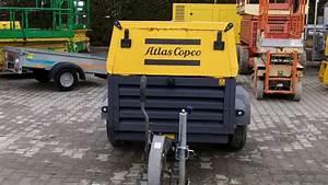 Kompresor Atlas Copco Xas 137 Dd Rok 2011
