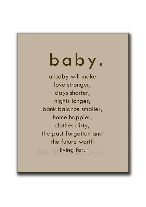 Waiting For Baby To Be Born Quotes